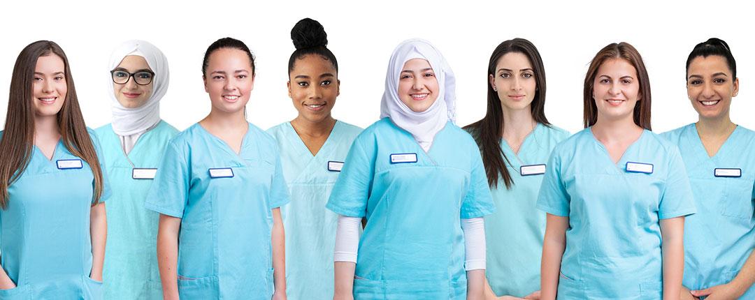 Teambild Auszubildende Zahnmedizinische Angestellte
