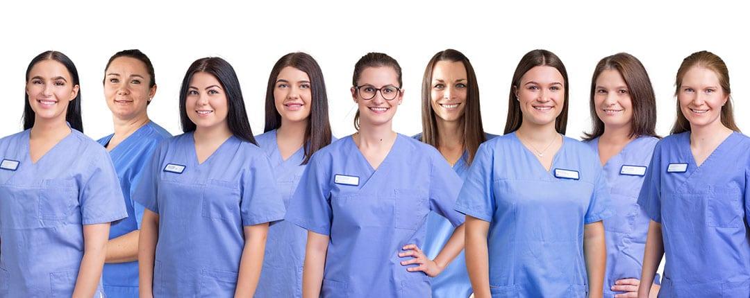 Teambild Dentalhygienikerinnen