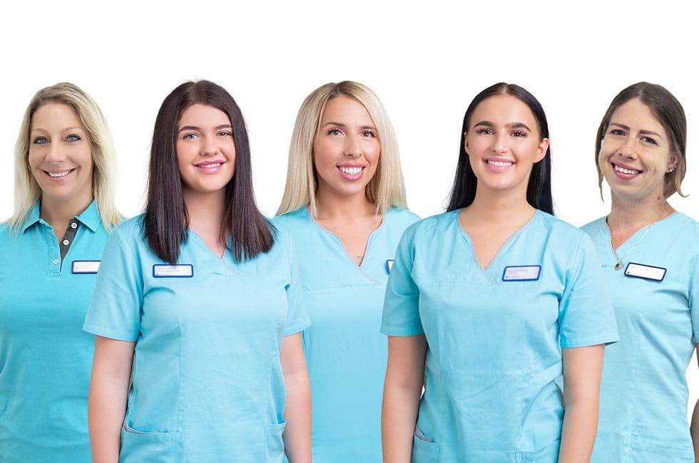 Zahnmedizinische Fachangestellte Team