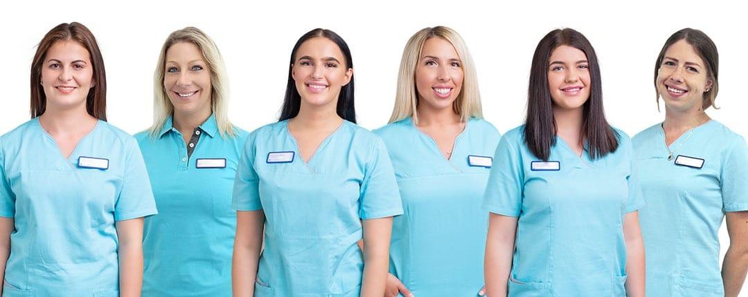 Teambild Zahnmedizinische Angestellte
